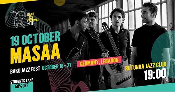 MASAA to perform at Baku Jazz Fest