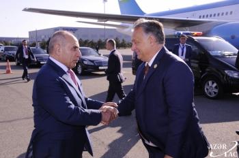 Hungarian PM Orban ends visit to Azerbaijan