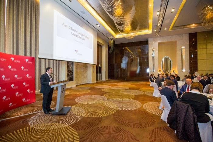 SOFAZ Executive Director meets with AmCham Azerbaijan members