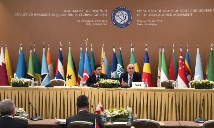 Preparatory ministerial meeting of 18th NAM Summit wraps up in Baku