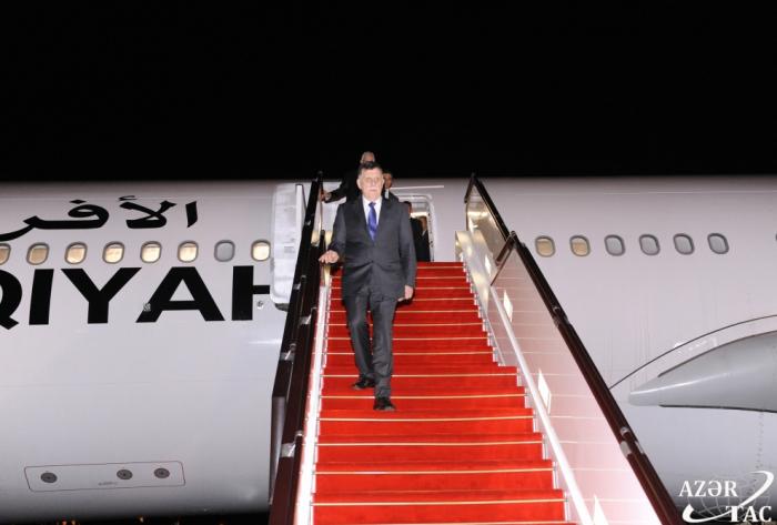 Libyan PM embarks on Azerbaijan visit