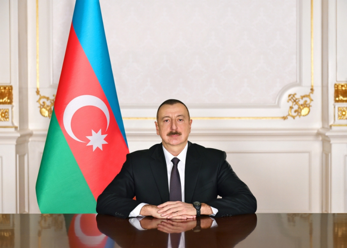 Azerbaijani president approves funding for construction of multi-storey residential building in Agdash