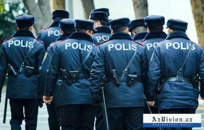 Bakının mərkəzinə çoxlu sayda polis cəlb olunub - FOTOLAR