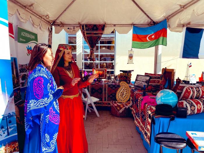 Azərbaycan Kaliforniyadakı festivalda təmsil olunub