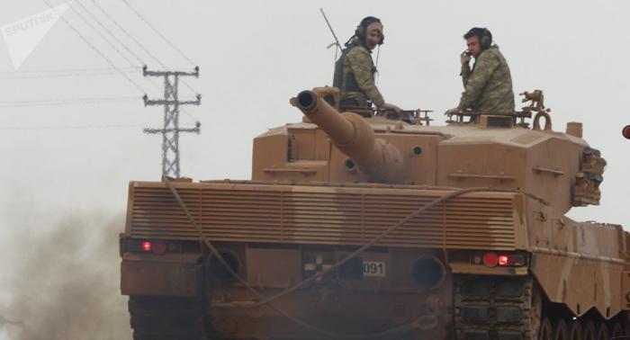 الجيش التركي يتوغل 12 كم شمال الرقة ويسيطر على 19 بلدة