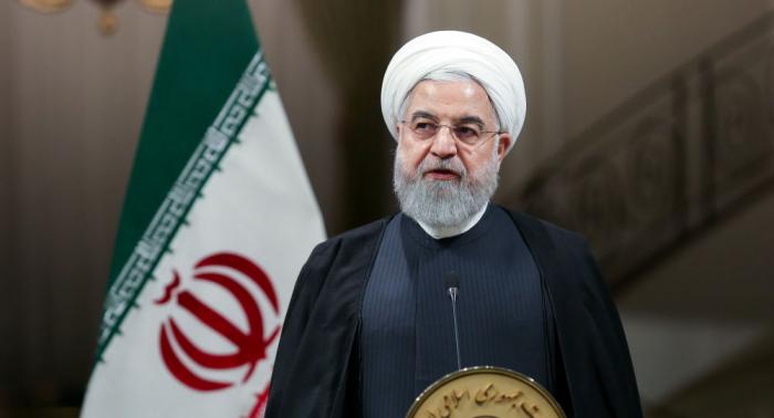 روحاني يفجر مفاجأة ويكشف دولتين وراء انسحاب أمريكا من الاتفاق النووي