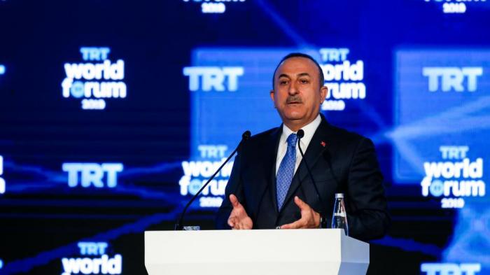 جاوش أوغلو: الأكراد ليسوا أعداءنا ونحن نستهدف الإرهابيين فقط