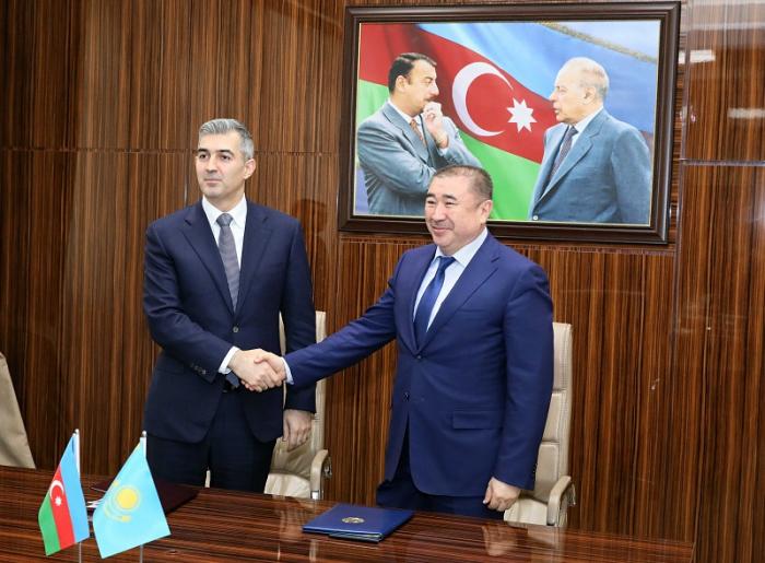 Azerbaiyán y Kazajistán firman un Acuerdo de Asociación en torno a la migración-  Fotos