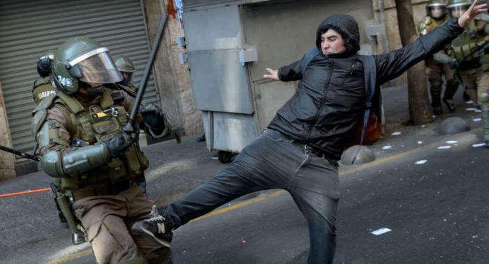 رئيس تشيلي: بلادنا تخوض حربا ضروسا