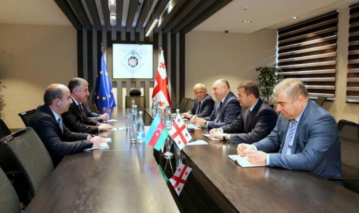 Azerbaijani Ambassador meet with head of Georgian SSS