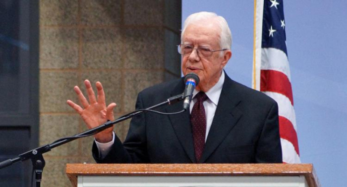 Former US President Jimmy Carter hospitalised with pelvic fracture