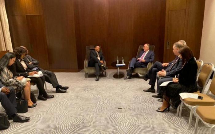 Azerbaijani FM met with Deputy Minister of Int