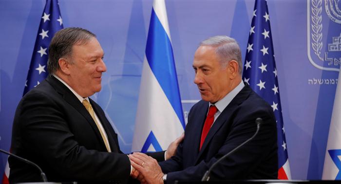 """لبحث عملية """"نبع السلام""""... بومبيو في إسرائيل"""