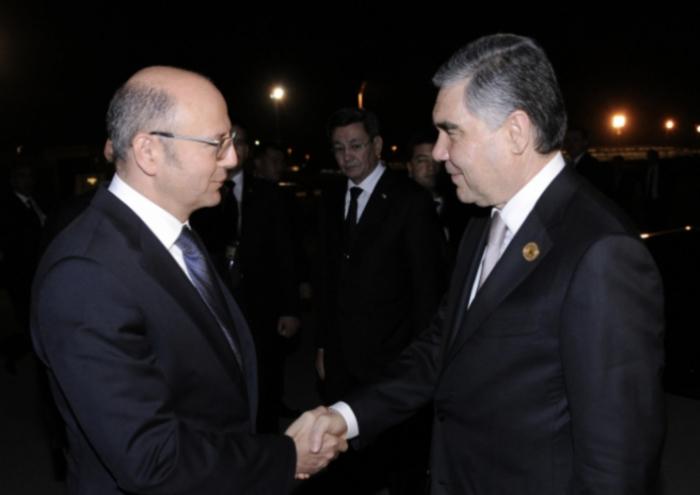 Turkmen President andIranian President complete visit to Azerbaijan