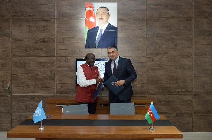 Nazir BMT rəsmisi ilə birgə bəyanat imzaladı