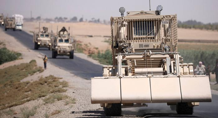 قوات أمريكية تعبر إلى العراق من سوريا... فيديو