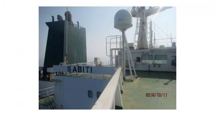 """إيران: ناقلة النفط """"سيباتي"""" تتحرك ببطء باتجاه مياه الخليج"""