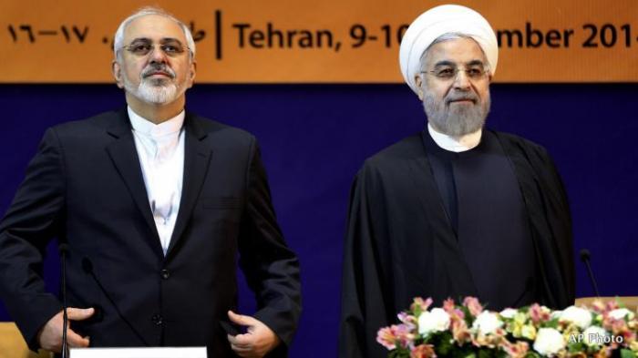 حسن روحاني سيأتي إلى باكو مع ظريف