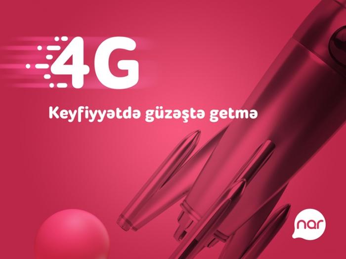 """""""Nar""""ın 4G istifadəçilərinin sayı 85% artıb"""