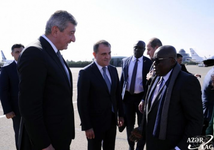 President of Ghana and Libyan PM end their visit to Azerbaijan