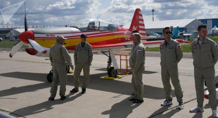 طائرة تدريبية روسية جديدة تجتاز اختبار المتانة
