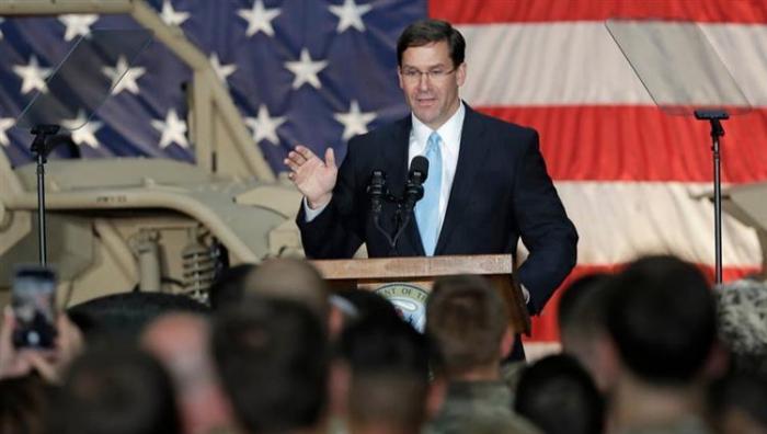 وزير الدفاع الأميركي: نقل ألف جندي من سوريا إلى العراق