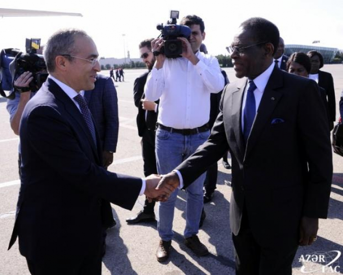 Presidents of Namibia, Algeria andEquatorial Guinea completed their visits to Azerbaijan
