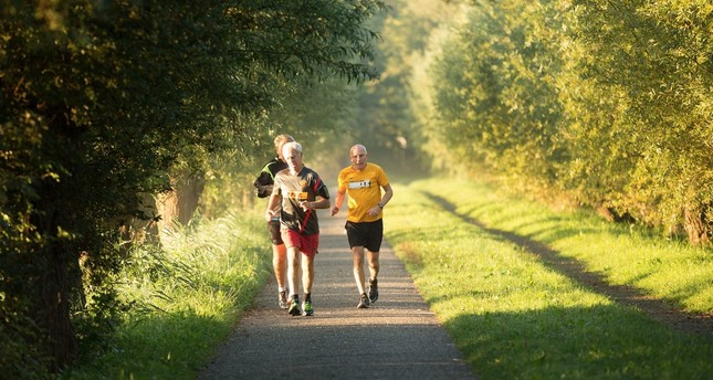 A 30-minute walk each day helps keep the doctor away