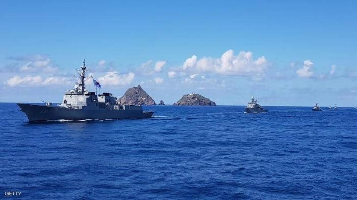 حرس الحدود الياباني يبحث عن صيادين كوريين شماليين غارقين