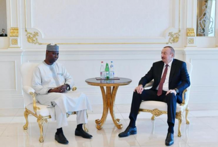 Azerbaijani President receives President of the United Nations General Assembly
