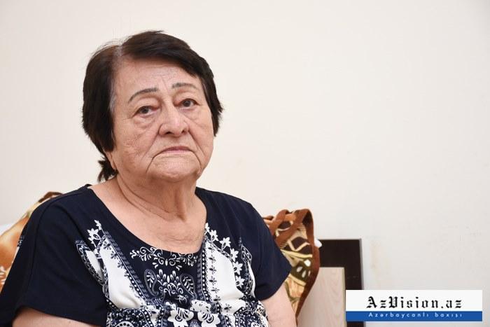 """65 il AMEA-da işləyən qadın """"Qocalar evi""""ndə yaşayır - VİDEO"""