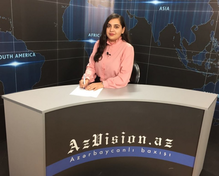 AzVision TV releases new edition of news in English for October 14-  VIDEO