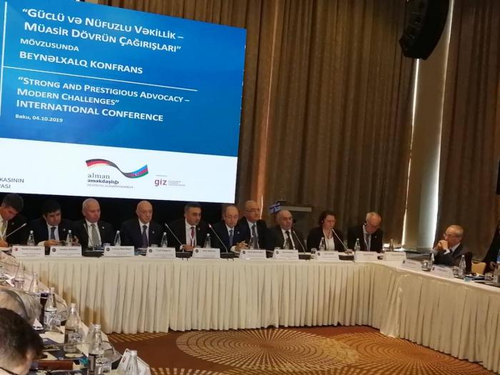Baku hosts international conference on advocacy