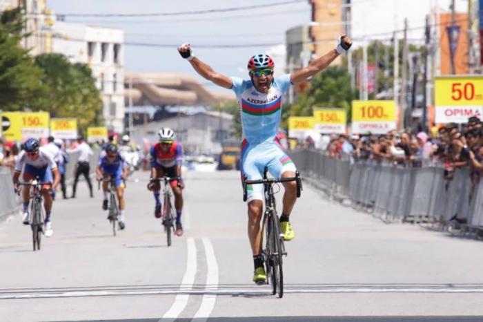 Azərbaycanlı velosipedçi Malayziyada birinci oldu
