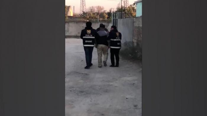 Bakıda narkotacirdən 5 kq heroin götürülüb - FOTOLAR