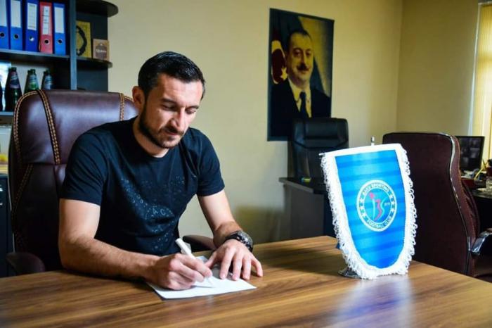 """""""Qarabağ""""ın sabiq futbolçusu klub rəhbəri oldu"""