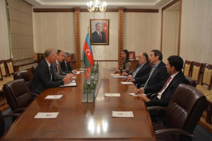 Foreign Minister Elmar Mammadarov received the EU Special Representative