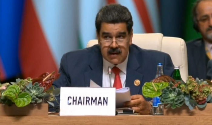 "Venezuelan President: ""It is an honour for us to attend NAM Summit in Baku"""