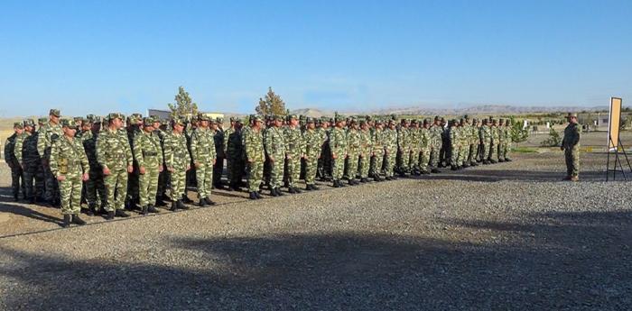 Naxçıvanda komandir hazırlığı toplantısı keçirilib - VİDEO