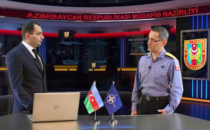"""NATO kontr-admiralı: """"Azərbaycan Ordusu güclüdür"""" - VİDEO"""