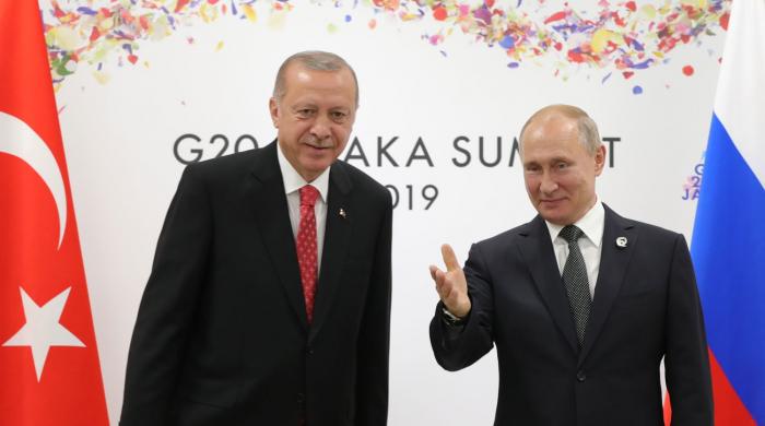 Sabah Ərdoğan və Putin Suriyanı müzakirə edəcək