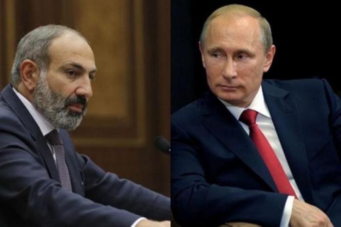 """""""Razılaşdıq ki, əvvəlcə mən, sonra Putin..."""" - Paşinyan"""