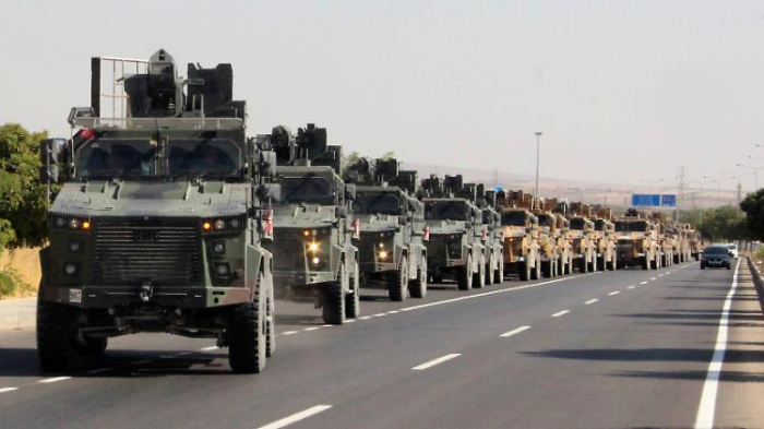 Türkei marschiert in Syrien ein