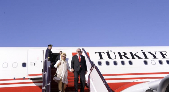Erdogan llega a Bakú-Actualizado