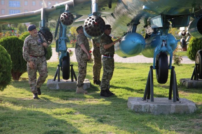 Naxçıvanda silahlara baxış keçirilib - FOTO+VİDEO
