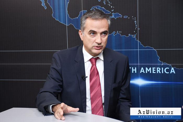 """""""Erməni məsələsi xarici siyasətdə alət kimi istifadə edilir"""" - Fərid Şəfiyev"""