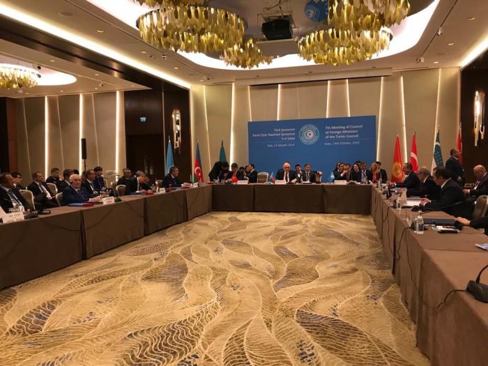 Les ministres des Affaires étrangères des États membres du Conseil turc se réunissent à Bakou - Mise à Jour