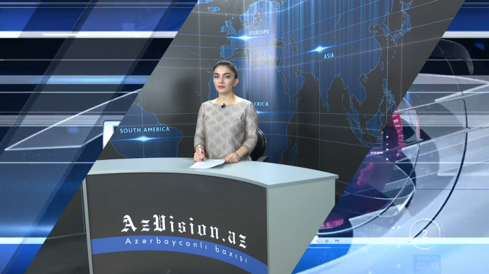 AzVision TV releases new edition of news in English for October 15 -VIDEO