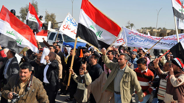 Five more Iraqis killed as violent protests spread nationwide