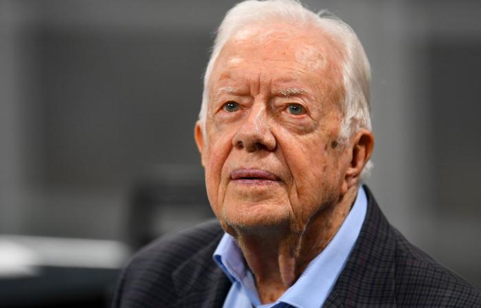 L'ancien président américain Jimmy Carter hospitalisé